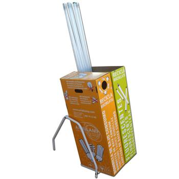 Envases y contenedores para l mparas fluorescentes y de for Porta tubos fluorescentes